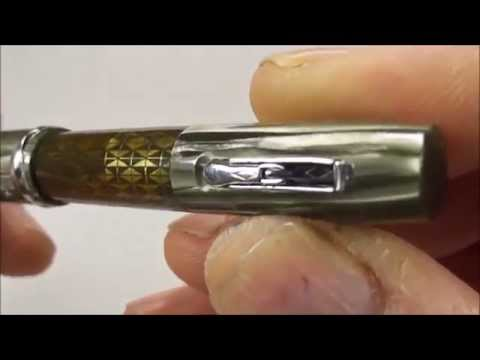 How to service a Watermans Ink Vue Lady Patricia fountain pen.