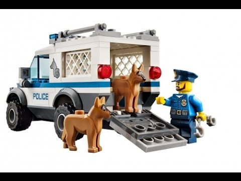 LEGO City Police Officers and Dog, Lego Toys For Kids - YouTube