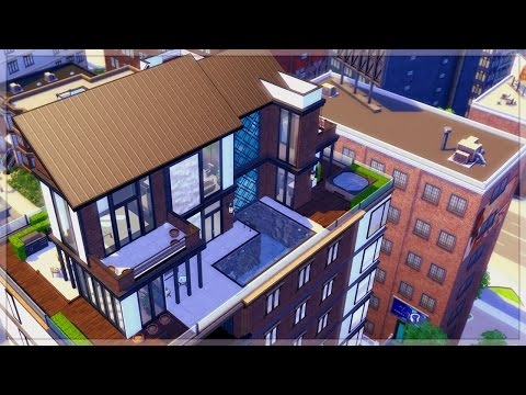 The Sims 4 City Living | Urban Penthouse Build