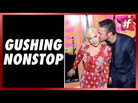 Taylor Kinney Kisses Lady Gaga at the 'Rock The Kasbah' Premiere