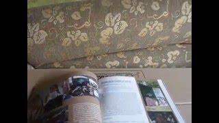 Mueble de cartón efecto piedra