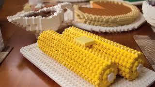 Saving Thanksgiving - LEGO Stop Motion Short