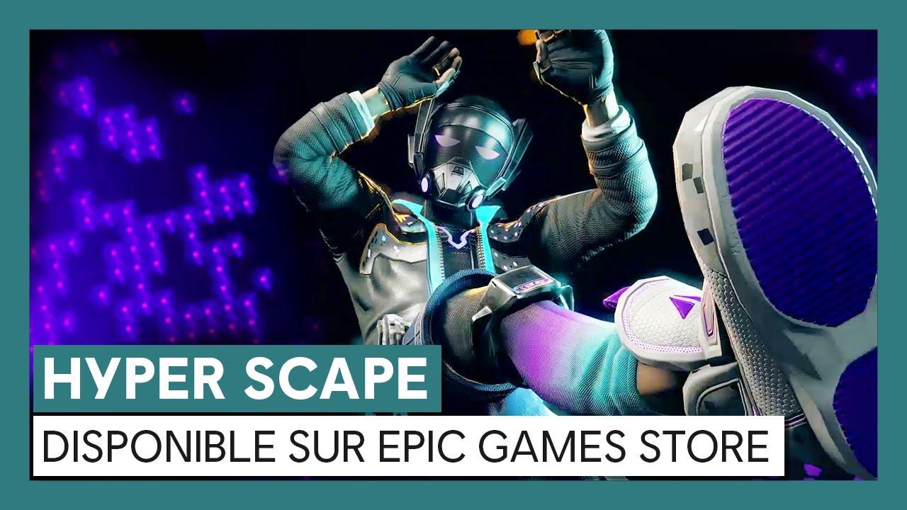 HYPER SCAPE - Trailer de lancement sur Epic Games Store