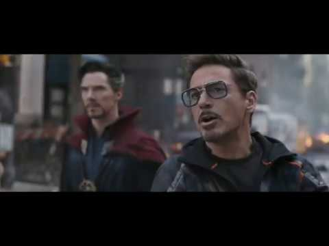 """Get Lost Squidward"" - Avengers: Infinity War Scene 2018 [HD]"