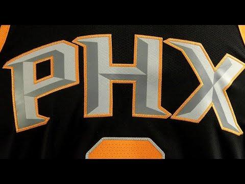 Phoenix Suns Nike Statement Jerseys Reveal - YouTube 98a8a786a