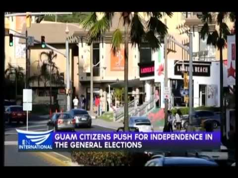 Guam citizens push for independence in the general elections