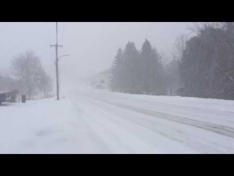Lucknow Ontario  weather Jan 28th 2017