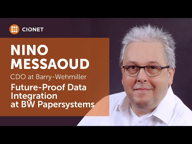 Nino Messaoud, BW Papersystems – Future-proof Data Integration Project