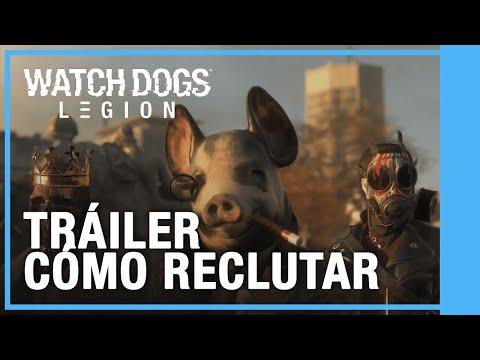 Watch Dogs: Legion - Cómo Reclutar Tráiler | Ubisoft Forward 2020