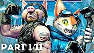 Blinx 2 Masters of Time and Space Full Game (PART 1/11)(HD)