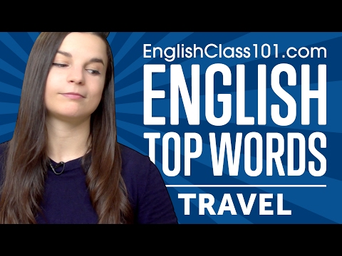 Learn the Top 20 Travel Phrases You Should Know in English