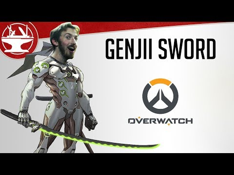Make Your Own Genji Sword! (FREE TEMPLATES)
