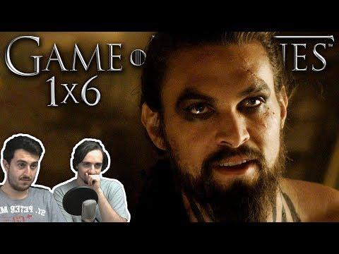 """Game of Thrones Season 1 Episode 6 """"A Golden Crown"""" REACTION"""