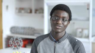 David Game College A Level Results Day 2015 - Omotade