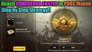 How to REACH CONQUEROR FASTER in SEASON 4 of PUBG Mobile - DerekG & Shibe123