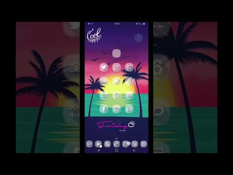 Crystal Glass HD - Icons pack Theme WALLPAPER full 2019new Apk