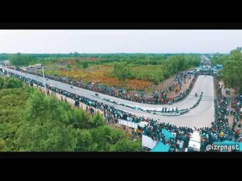 Sirkuit Road Race Bupati Cup Kuala Tungkal - Balapan Motor Jambi - Race Jambi