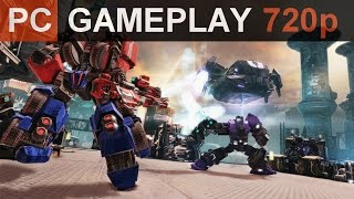 Transformers Fall of Cybertron PC Gameplay (720p)
