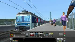 [TS 2017 - QD] #17 - RER B by Zawal : Z6400 sur le Massy-Paris Nord !
