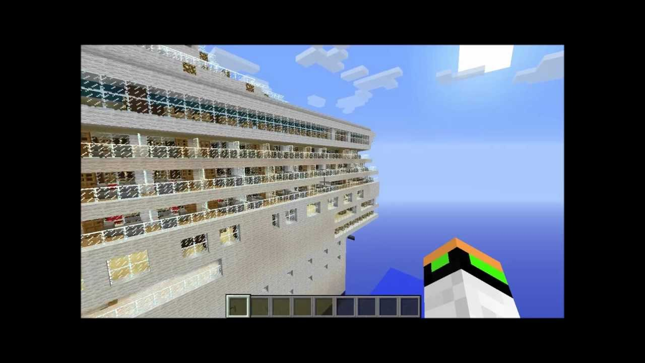 minecraft how to build a wooden ship