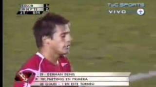 German Denis - Independiente vs Colon - 2007