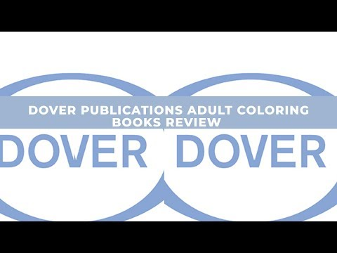 - Dover Publications Adult Coloring Books Review - YouTube