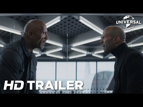 Fast & Furious: Hobbs & Shaw – Ofiicial Trailer 1 (Universal Pictures) HD