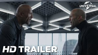 Fast & Furious: Hobbs & Shaw – Official Trailer 1 (Universal Pictures) HD