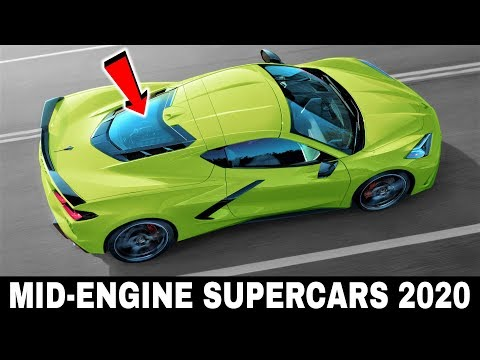 9 All-NEW Mid-Engine Supercars Arriving in 2020 (Comparison of Major Specifications)