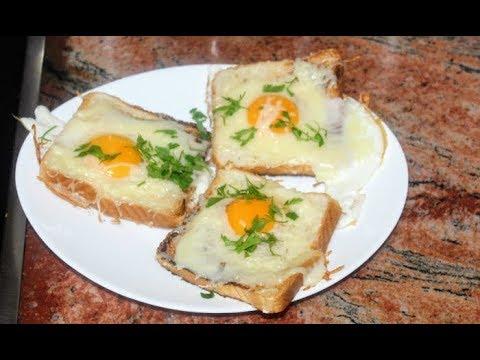 Сандвичи с яйца и кашкавал