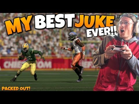 SINGLE GREATEST JUKE EVER TURNS INTO A SCORE!! Madden 17 Packed Out!