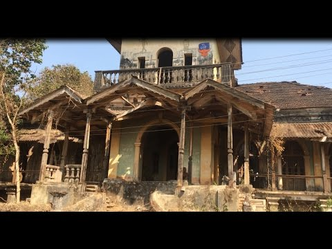 EXPLORING THE ABANDONED D'MELLO HOUSE IN GOA | VERY OLD RICHEST MILLIONAIRE HOUSE IN INDIA |