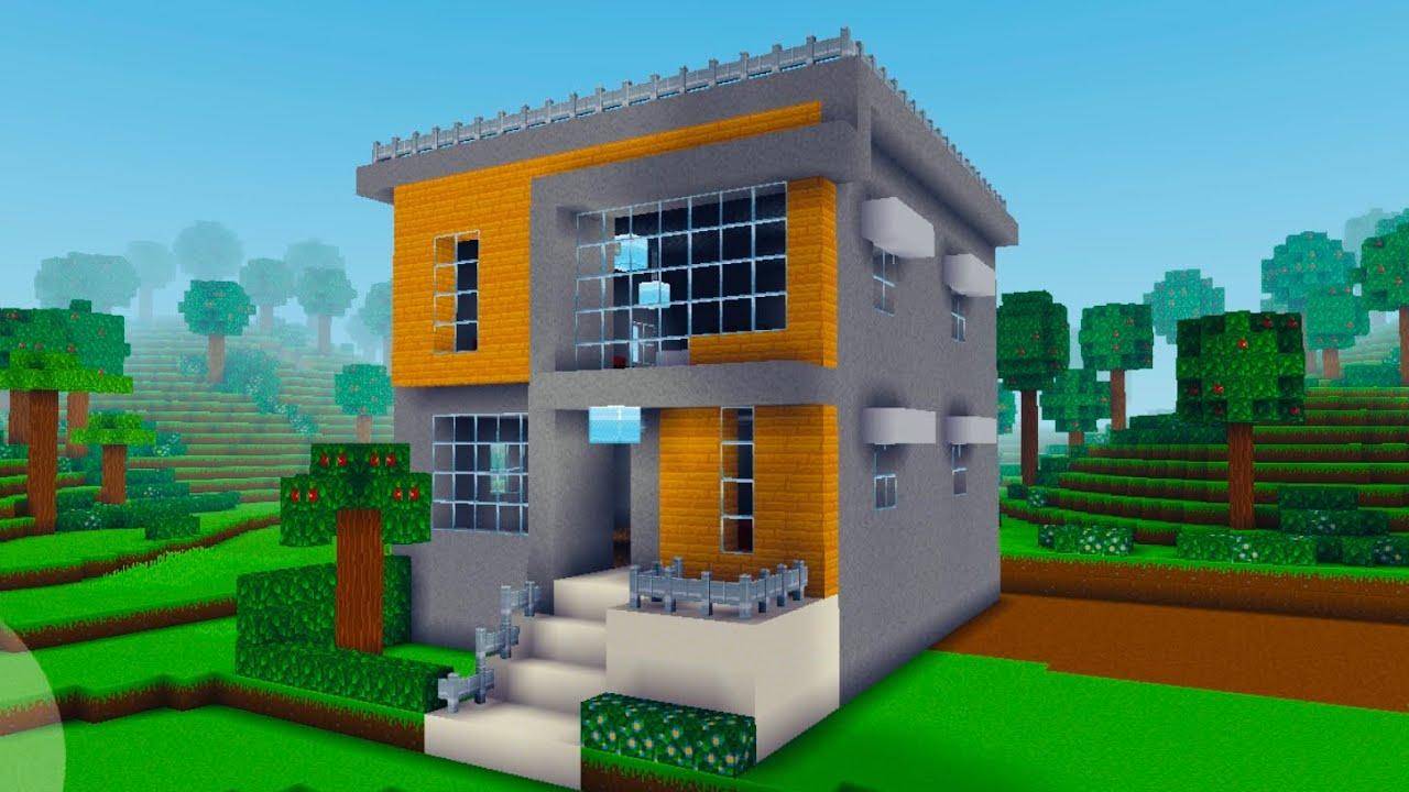 Block Craft 3D Modern House