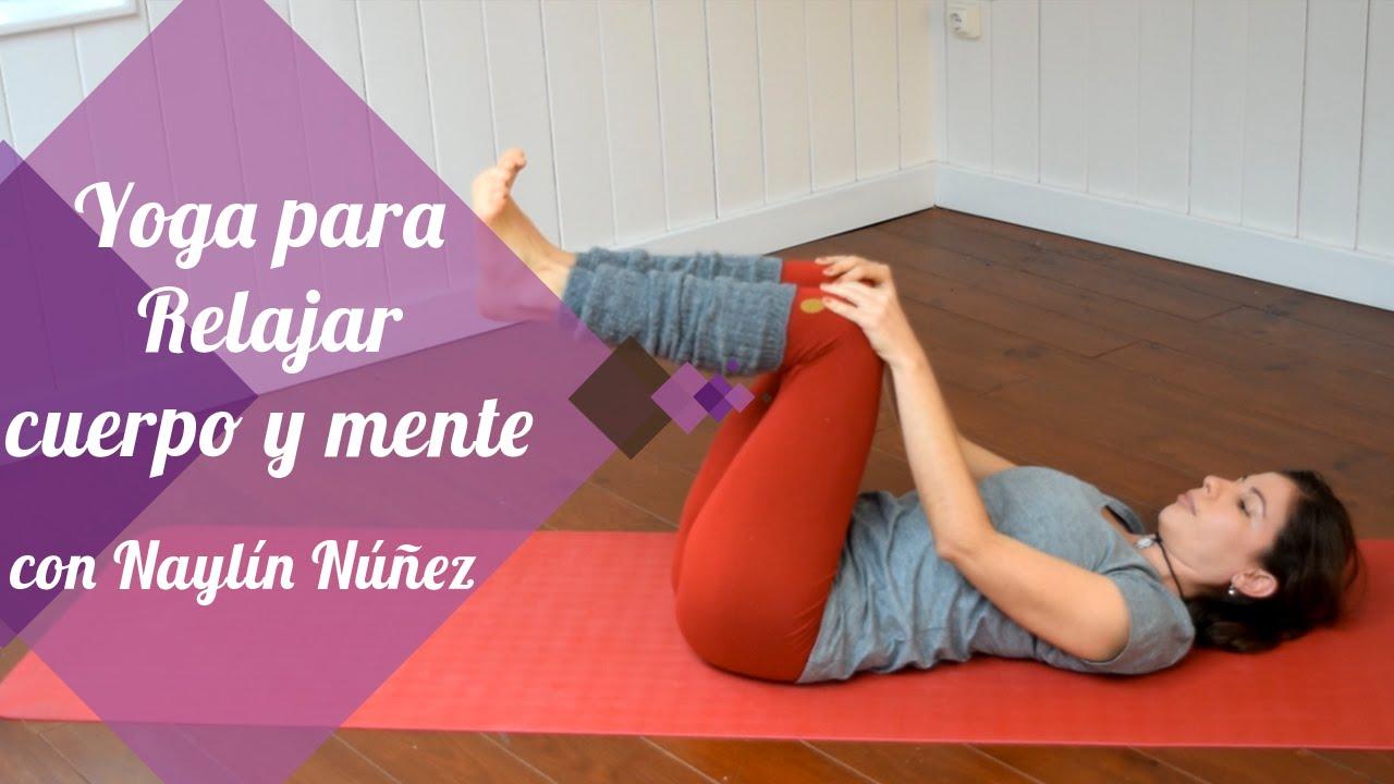 Yoga para relajar cuerpo y mente