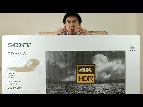 Sony XE93 (X930E) 4K TV Unboxing + Picture Menu Settings