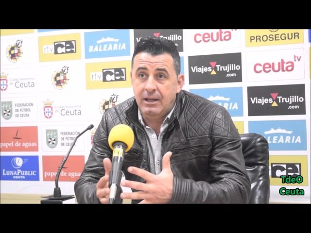 AD Ceuta FC-Juan Ramón Martín-Jornada 22ª