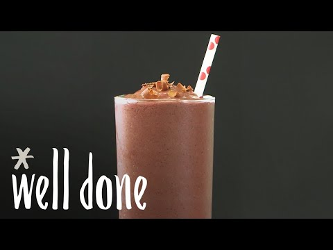 How To Make Black Forest Smoothies | Recipe | Well Done
