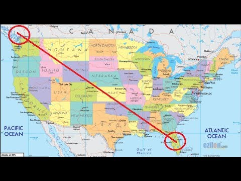 Florida To Canada Map FLORIDA TO CANADA ON A TRAIN!   YouTube