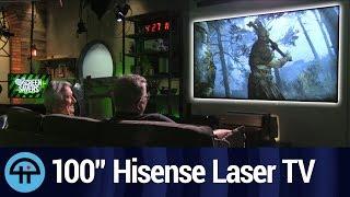 """100"""" 4K Smart Laser TV from Hisense"""