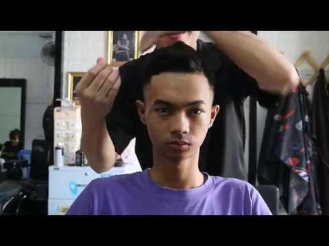 Hướng dẫn tóc nam cơ bản, Cách xử lý tóc bị liếm, bị lệch không vào nếp