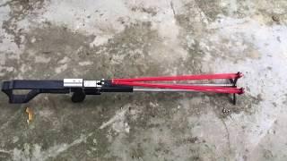 Test độ chuẩn của Super slingshot (20m)