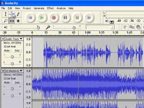 Audacity: A walk through on the basics of editing audio using Audacity