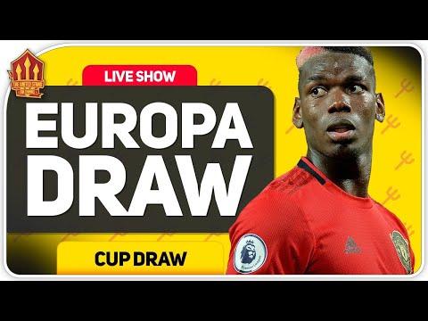 EUROPA LEAGUE DRAW REACTION LIVE! Man Utd News