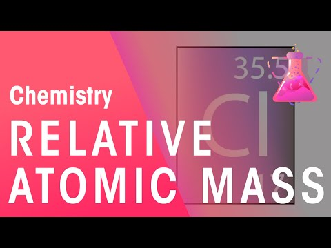 Relative Atomic Mass   Chemistry for All   The Fuse School
