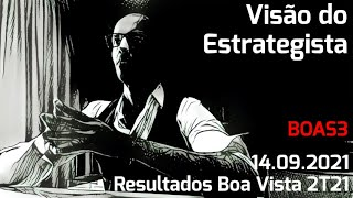 14.09.2021 - Visão do Estrategista - Resultados Boa Vista 2T21 - BOAS3