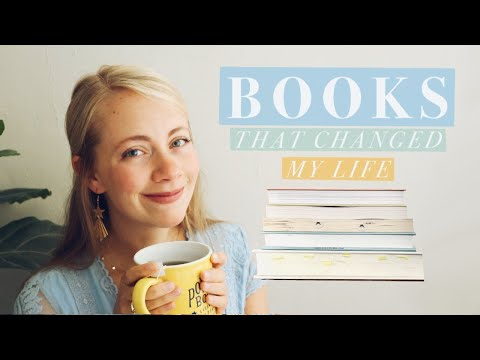 5 BOOKS THAT CHANGED MY LIFE || a wide variety of genres