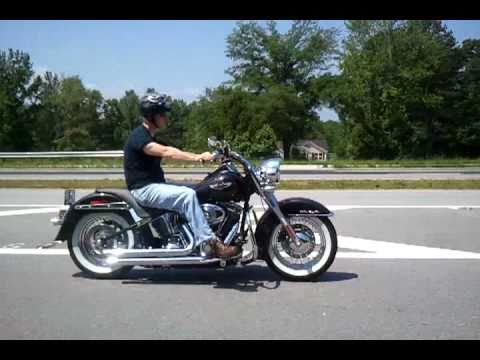 First Ride 2008 Harley Davidson Softail Deluxe Youtube