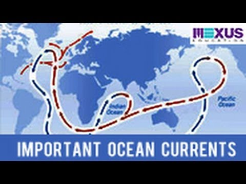 Important Ocean Currents