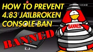 JAILBROKEN PS3 CONSOLE BANS DUE TO 4.83 UPDATE
