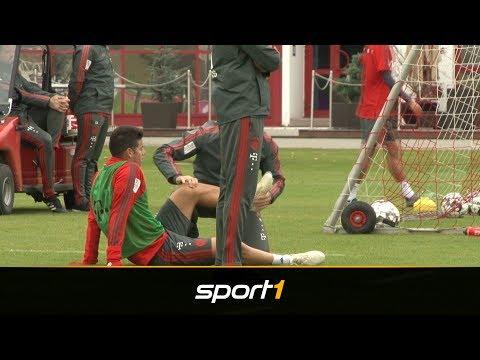 Verletzungsschock für Bayern: James Rodriguez fällt aus | SPORT1 - DER TAG